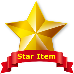Star Item Badge